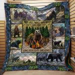 Theartsyhomes Camping #1114-8 Ht-Kno 3D Personalized Customized Quilt Blanket ESR36