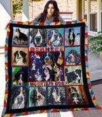 Theartsyhomes Bernese Mountainm4 3D Personalized Customized Quilt Blanket ESR33