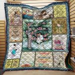 Theartsyhomes Book Dangerous 3D Personalized Customized Quilt Blanket ESR49