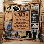 Theartsyhomes Dad J0303 82o41 3D Personalized Customized Quilt Blanket ESR34
