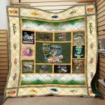Theartsyhomes Fishing Bumper Sticker Hqt-Qhn00002 3D Personalized Customized Quilt Blanket ESR28