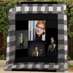 Theartsyhomes Ed Sheeran #Bjan-3 3D Personalized Customized Quilt Blanket ESR9