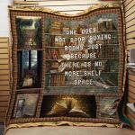 Theartsyhomes Book J1502 84o41 3D Personalized Customized Quilt Blanket ESR21