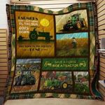 Theartsyhomes Farming: Don't Just Til The Sun Goes Down 3D Personalized Customized Quilt Blanket ESR31