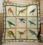 Theartsyhomes Bird V1 3D Personalized Customized Quilt Blanket ESR21