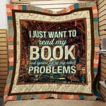 Theartsyhomes Book Problem 3D Personalized Customized Quilt Blanket ESR32