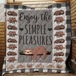 Theartsyhomes Enjoy The Simple Pleasures - 3D Personalized Customized Quilt Blanket ESR2