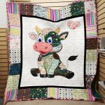 Theartsyhomes Cow Printing Hqd-Qvk00015 3D Personalized Customized Quilt Blanket ESR26