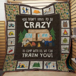 Theartsyhomes Camping Picture 3D Personalized Customized Quilt Blanket ESR32