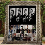 Theartsyhomes Elvis Presley #Bjan-8 3D Personalized Customized Quilt Blanket ESR44