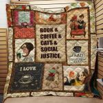 Theartsyhomes Book D0501 82o39 3D Personalized Customized Quilt Blanket ESR38