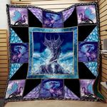 Theartsyhomes Colorful Dragon Washable Handmade 2012-01 3D Personalized Customized Quilt Blanket ESR23