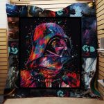 Theartsyhomes Darth Vader Star Wars Fabric 3D Personalized Customized Quilt Blanket ESR21