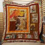Theartsyhomes Book Quotes V5 3D Personalized Customized Quilt Blanket ESR12
