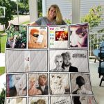 Theartsyhomes Eurythmics 3D Personalized Customized Quilt Blanket ESR23