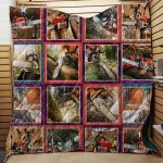 Theartsyhomes Chainsaw Best Friends Of Logger 3D Personalized Customized Quilt Blanket ESR49