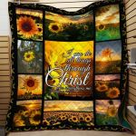 Theartsyhomes Floral Heifers - Dml-Qvk00033 3D Personalized Customized Quilt Blanket ESR39