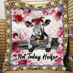 Theartsyhomes Cow Gml-Cow-Hg0002 3D Personalized Customized Quilt Blanket ESR45