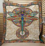 Theartsyhomes Dragonfly V15 3D Personalized Customized Quilt Blanket ESR46