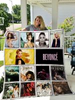 Theartsyhomes Beyonc 3D Personalized Customized Quilt Blanket ESR49