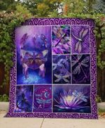Theartsyhomes Colorfull Dragonfly V4 3D Personalized Customized Quilt Blanket ESR1