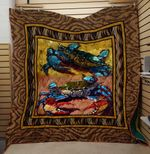 Theartsyhomes Crab V1 3D Personalized Customized Quilt Blanket ESR28