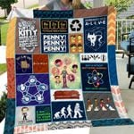 Theartsyhomes BBT Art 3D Personalized Customized Quilt Blanket ESR10