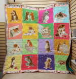 Theartsyhomes Big belly cat 3D Personalized Customized Quilt Blanket ESR30
