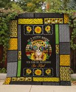 Theartsyhomes CAT HIPPIE 3D Personalized Customized Quilt Blanket ESR41
