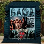 Theartsyhomes Bon Jovi #Bjan-2 3D Personalized Customized Quilt Blanket ESR47
