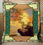 Theartsyhomes Dinosaur Quotes 3D Personalized Customized Quilt Blanket ESR47