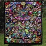Theartsyhomes Favorite Disney Characters 3D Personalized Customized Quilt Blanket ESR37