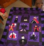 Theartsyhomes Disney Villains Fabric 3D Personalized Customized Quilt Blanket ESR47