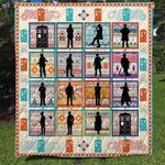 Theartsyhomes Doctor Who Collection 3D Personalized Customized Quilt Blanket ESR37