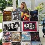 Theartsyhomes Crosby Stills Nash And Young 3D Personalized Customized Quilt Blanket ESR50