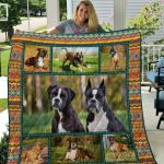 Theartsyhomes Boxer Qui7011 3D Personalized Customized Quilt Blanket ESR18