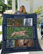 Theartsyhomes Belgian Malinois 1 3D Personalized Customized Quilt Blanket ESR41