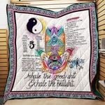 Theartsyhomes Building Inner Strength Yoga P227b Pd 3D Personalized Customized Quilt Blanket ESR13