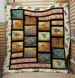 Theartsyhomes Dinosaur V9 3D Personalized Customized Quilt Blanket ESR46