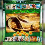 Theartsyhomes Dragon Ball Goku Shenron 3D Personalized Customized Quilt Blanket ESR40