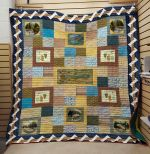 Theartsyhomes Fishing V1 3D Personalized Customized Quilt Blanket ESR35