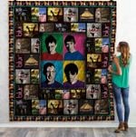 Theartsyhomes Blur Band 3D Personalized Customized Quilt Blanket ESR6