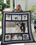 Theartsyhomes Boston Terrier 9 3D Personalized Customized Quilt Blanket ESR19