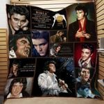 Theartsyhomes Elvis Presley Th370 3D Personalized Customized Quilt Blanket ESR46