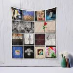 Theartsyhomes Blue October Two 3D Personalized Customized Quilt Blanket ESR1