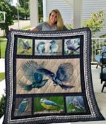 Theartsyhomes Biirds Quiani18006 3D Personalized Customized Quilt Blanket ESR44