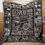 Theartsyhomes Drummer D0701 84o31 3D Personalized Customized Quilt Blanket ESR19