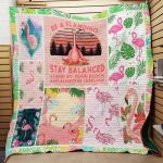 Theartsyhomes Flamingo F1508 86o31 3D Personalized Customized Quilt Blanket ESR21