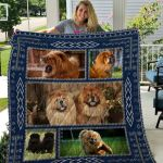 Theartsyhomes Chow Chow Qui51002 3D Personalized Customized Quilt Blanket ESR25