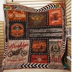 Theartsyhomes Born To Ride 3D Personalized Customized Quilt Blanket ESR3
